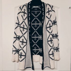 Aztec Patterned Cardigan